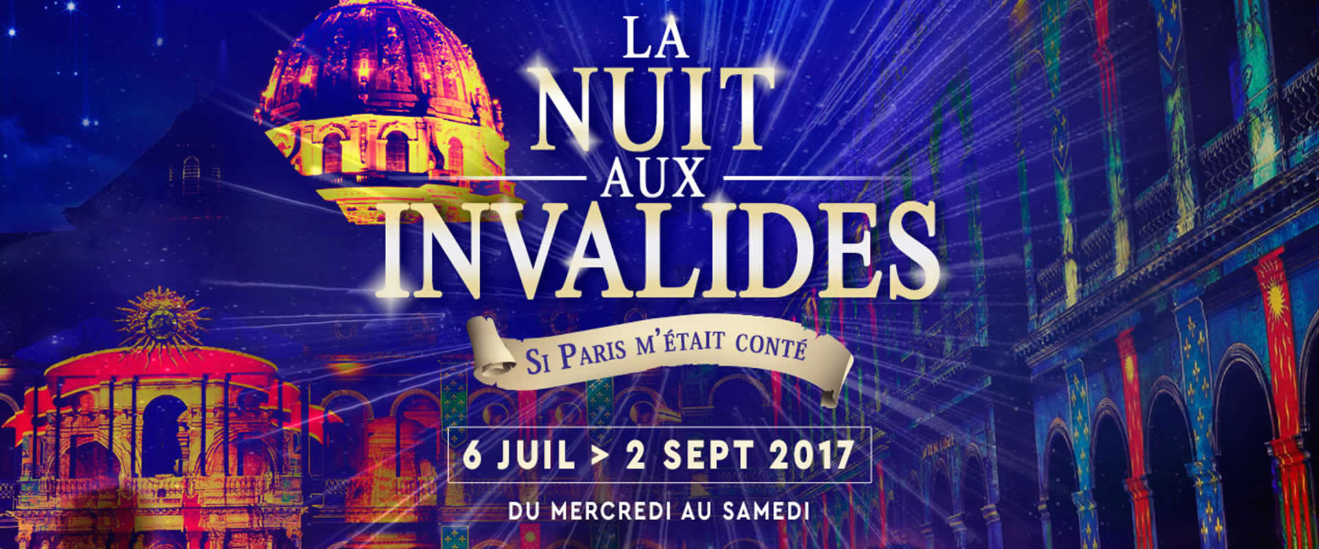 Visuel NOVELTY & LA NUIT AUX INVALIDES avec AMACLIO PRODUCTIONS