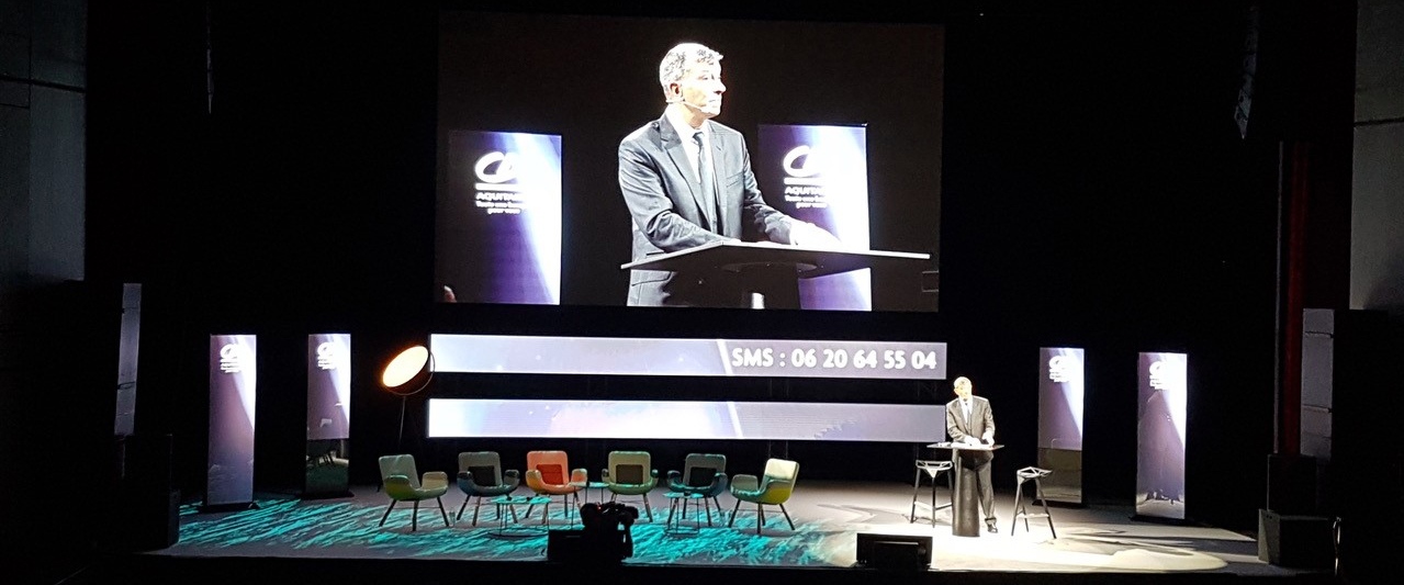 Visuel Novelty Bordeaux aux côtés du Monde Inuit pour le Crédit Agricole Aquitaine