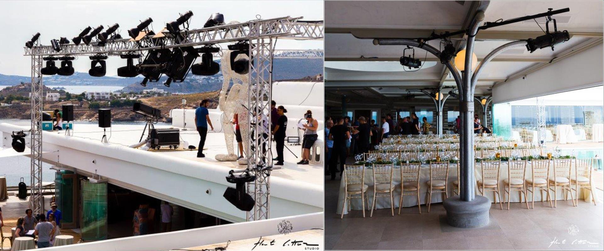 Visuel Novelty Azur à Mykonos pour Tencue Productions