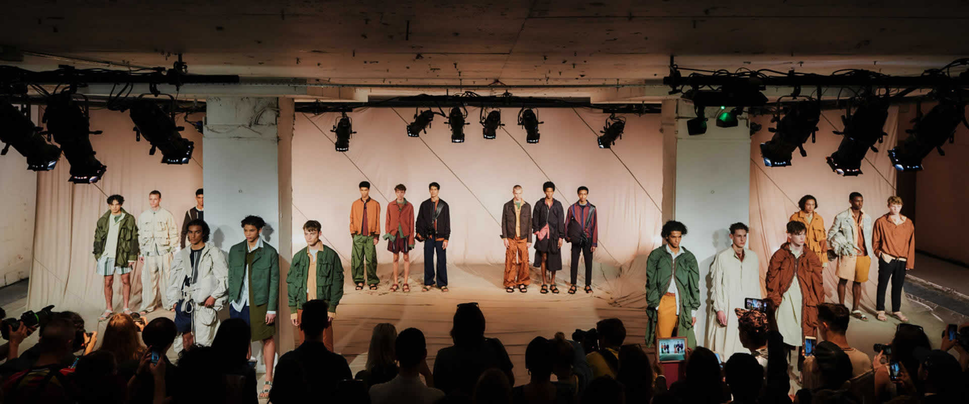 Visuel QASIMI | London Fashion Week | Juin 2017