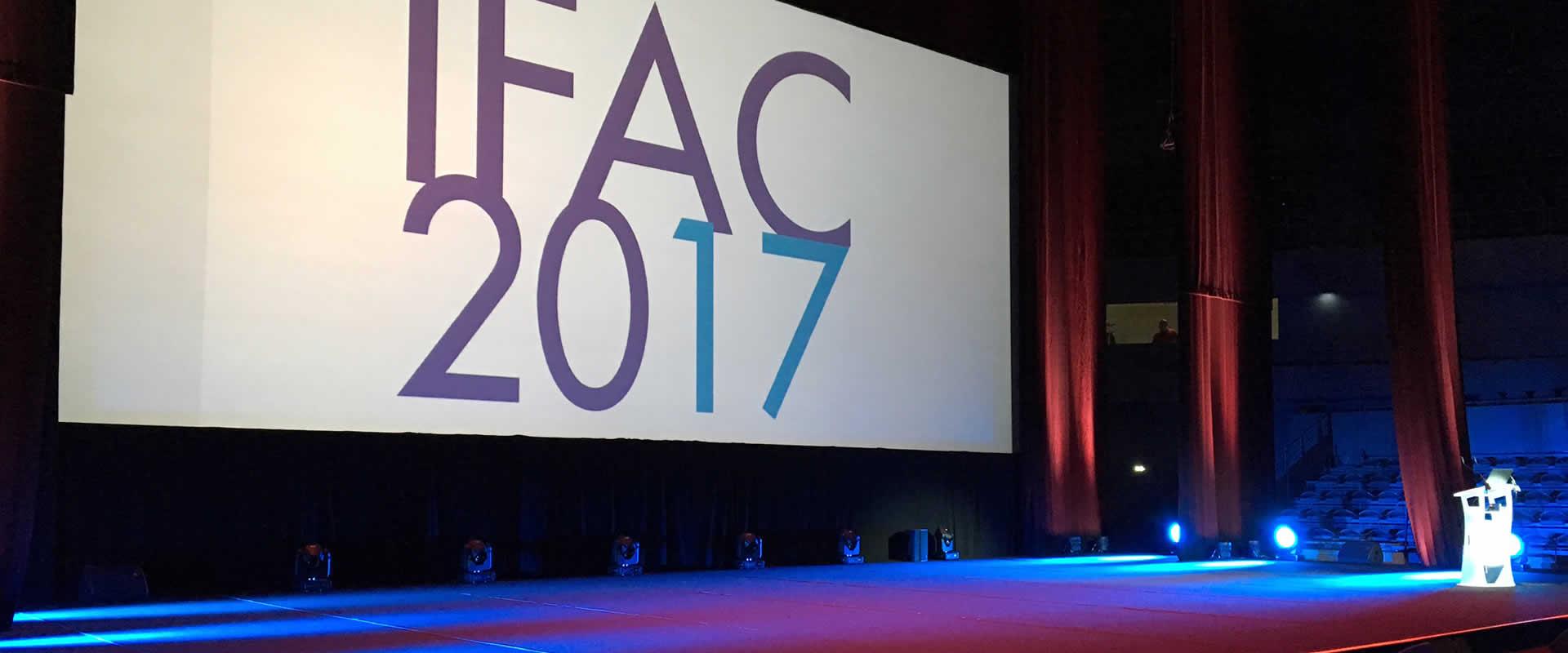 Visuel Novelty Toulouse au 20ème Congrès IFAC 2017
