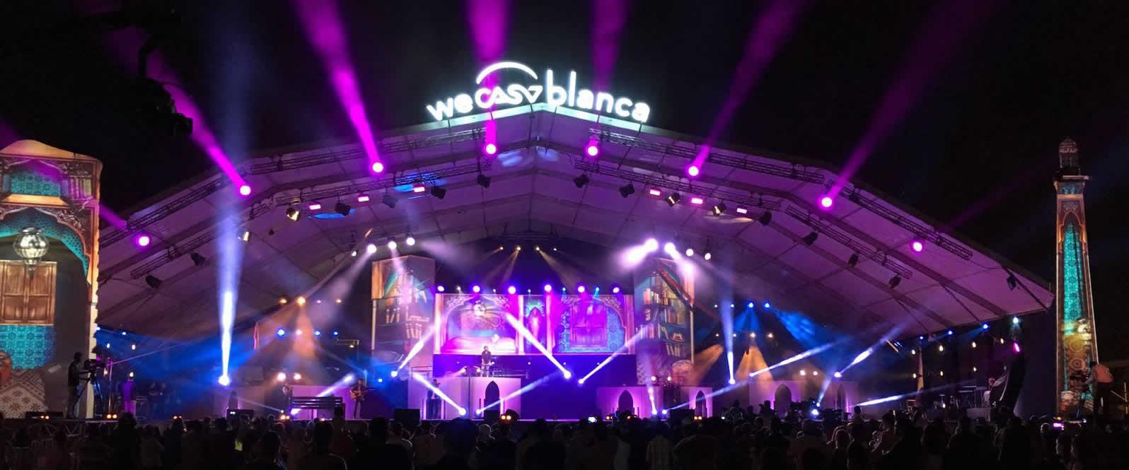 Visuel NOVELTY au Festival de Casablanca 2017