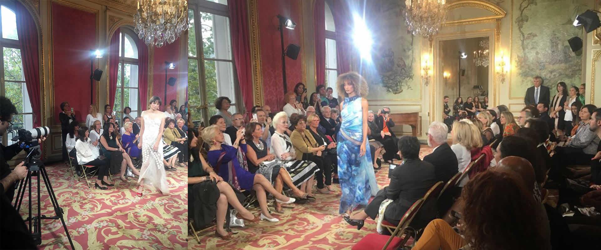 Visuel Novelty UK à Paris pour le Défilé Ivan Grubessich