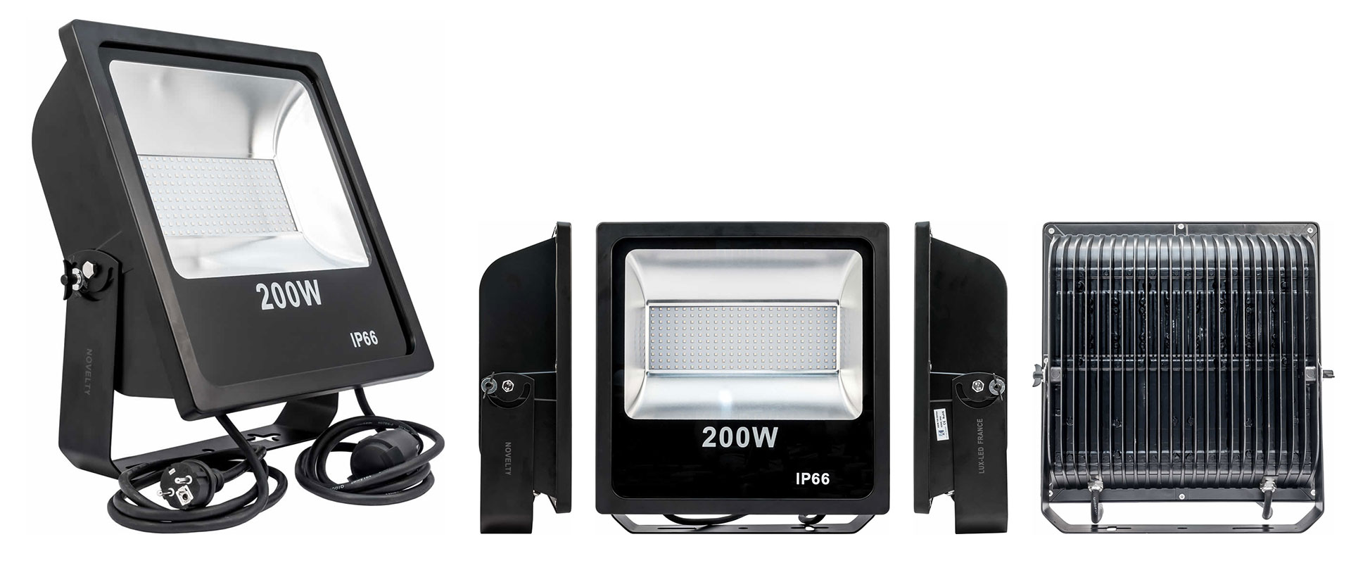 Visuel Novelty I Quartz Led 200W - 4000°